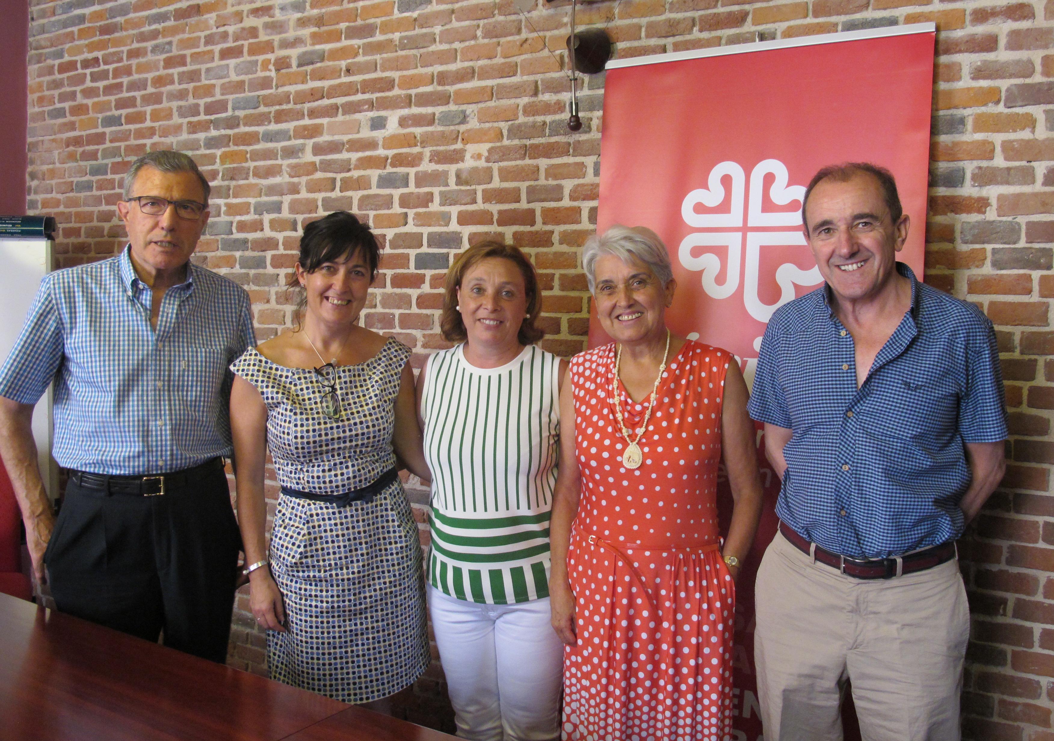 Visita Concejala Asuntos Sociales Ayto Leon-julio 2015